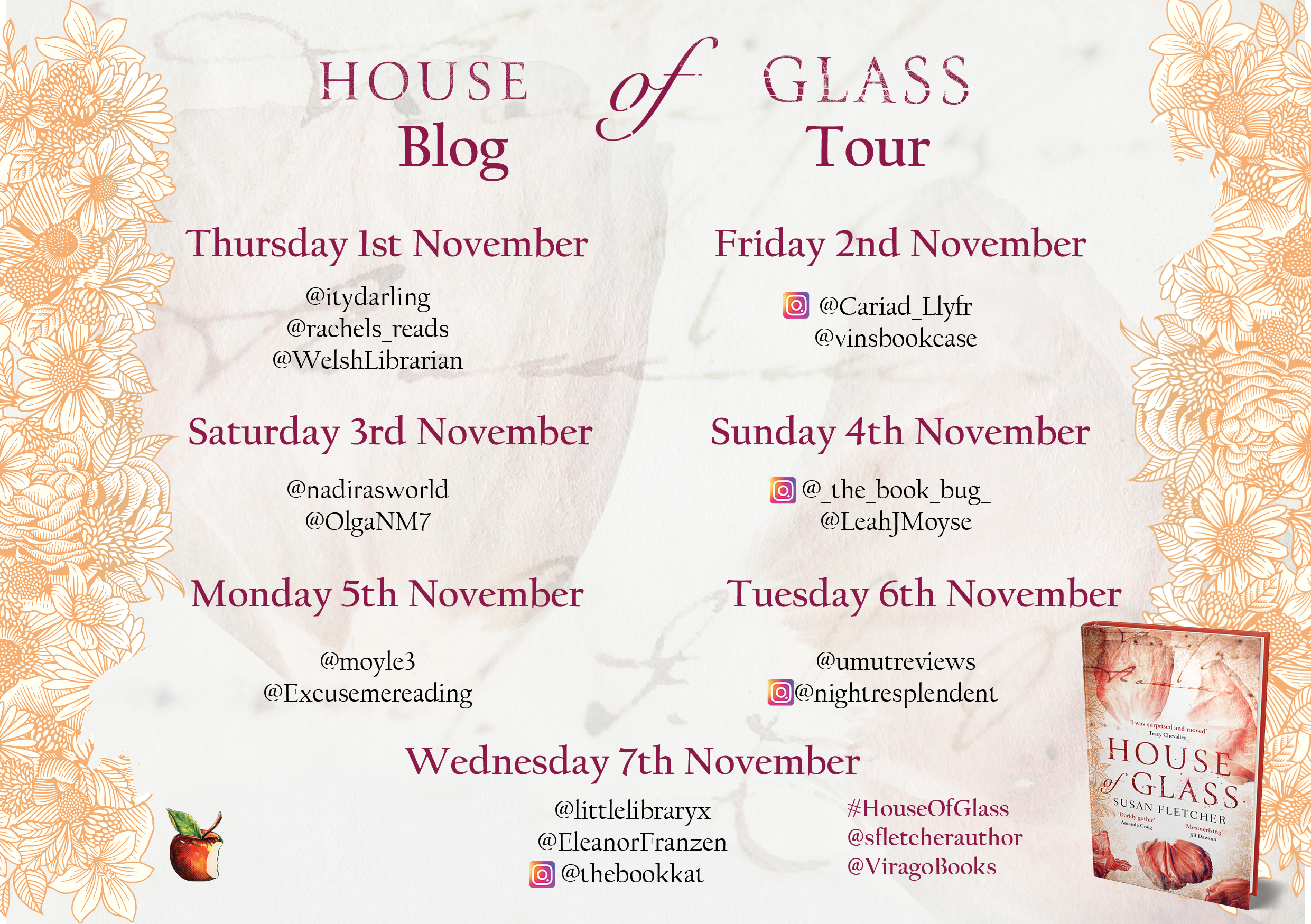 House of Glass Blog Tour